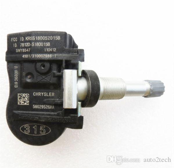 크라이슬러 200 다지 직경 지프 스즈키 키자시 56029526AA 자동차 부품 56029526AA 315MHZ 원래 TPMS 타이어 압력 모니터링 센서