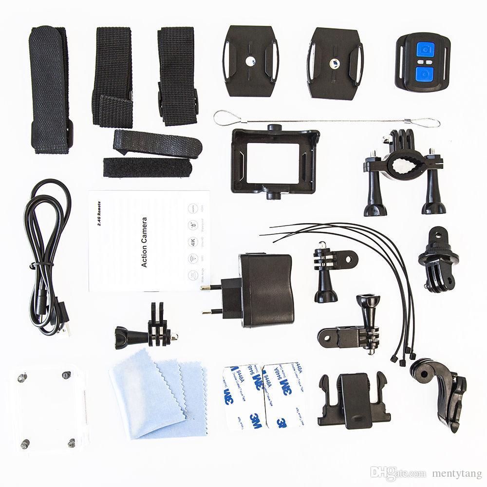 4K Action Camera 30fps 1080P/60fps 720P/120fps WiFi 2 0