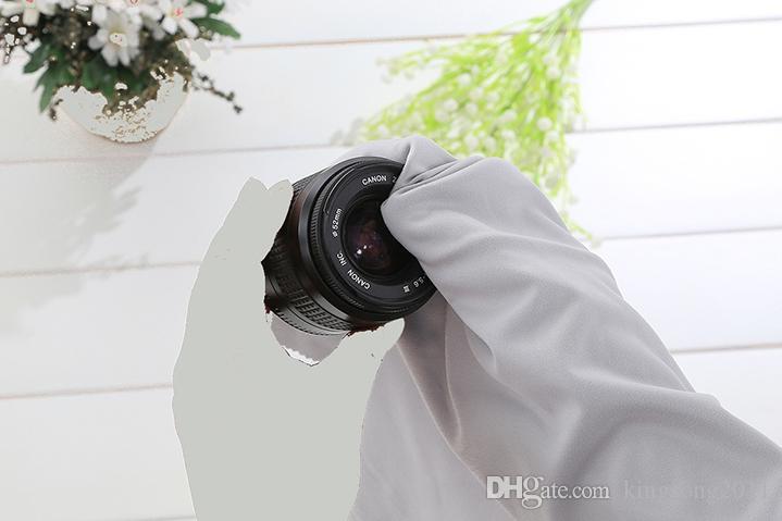 40x40 센치 메터 대형 실험실 크기 옷 안경 액세서리 청소 천 마이크로 화이버 선글라스 안경 카메라 화면 안경 먼지 타월