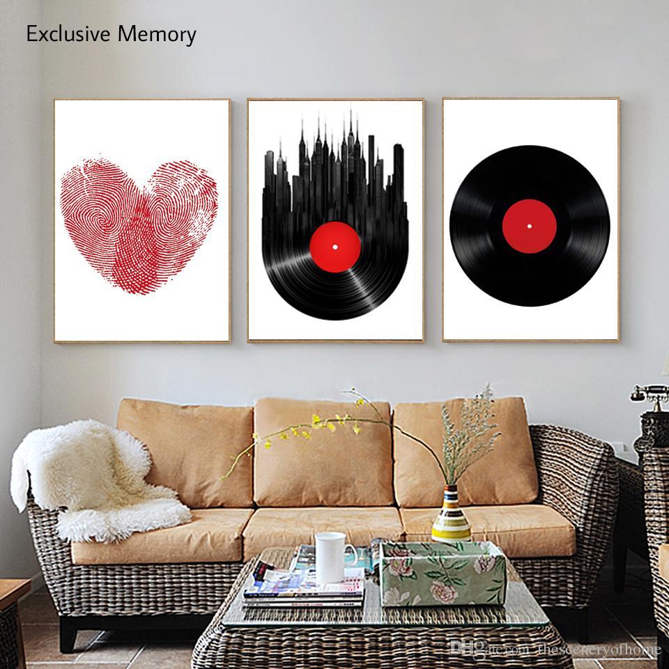 Acheter 3 Peintures De Décoration De La Maison Contemporaine Home