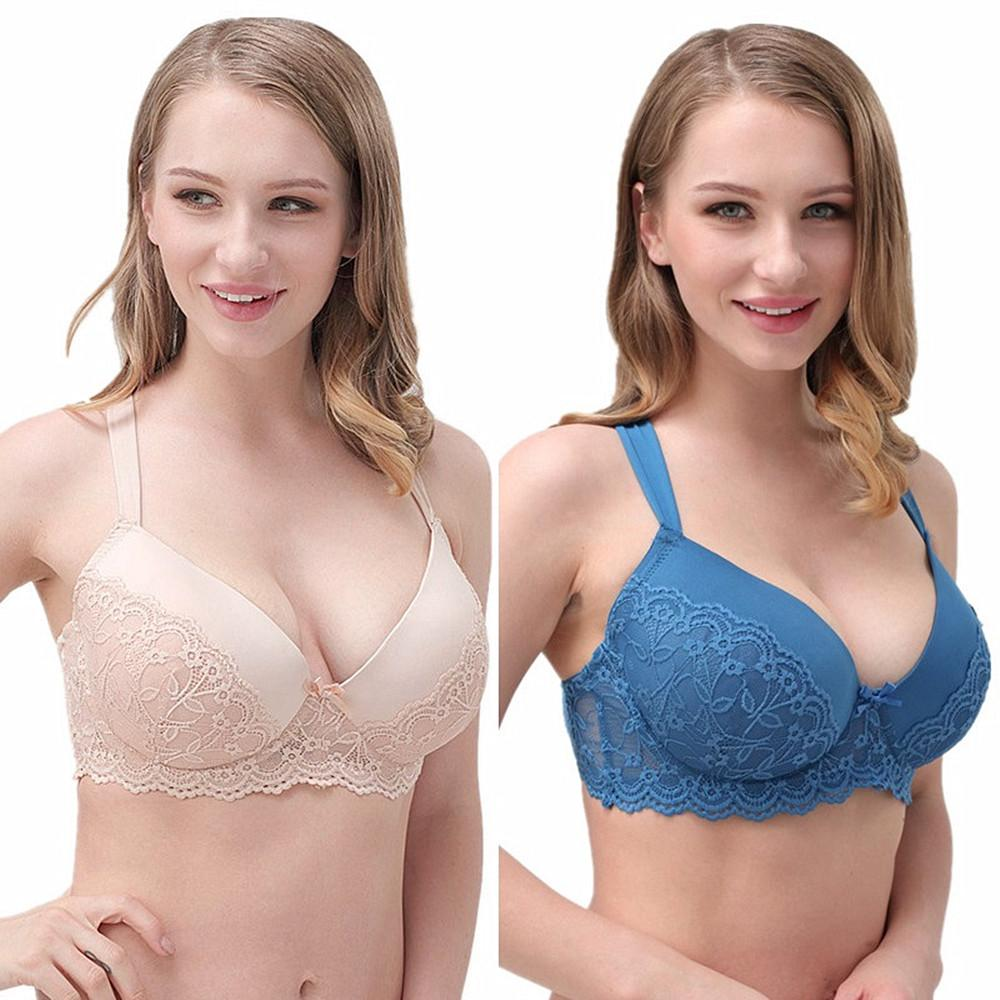 f504affd683b8 Brand New High Grade Lady Gather Adjustable Bra Full Cup Push Up Bra ...