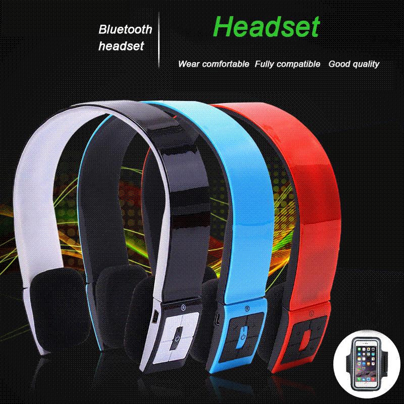 BH 23 Wireless Bluetooth Headphones Portable Sport Stereo Headset Noise Canceling Casque Audio