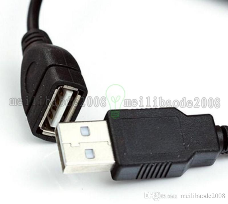 28cm Black USB 2.0 To DC Charging Cable With Switch 5V 2A USB Wire To DC For Orange Pi For Orange Pi One Banana Pi M2 MYY