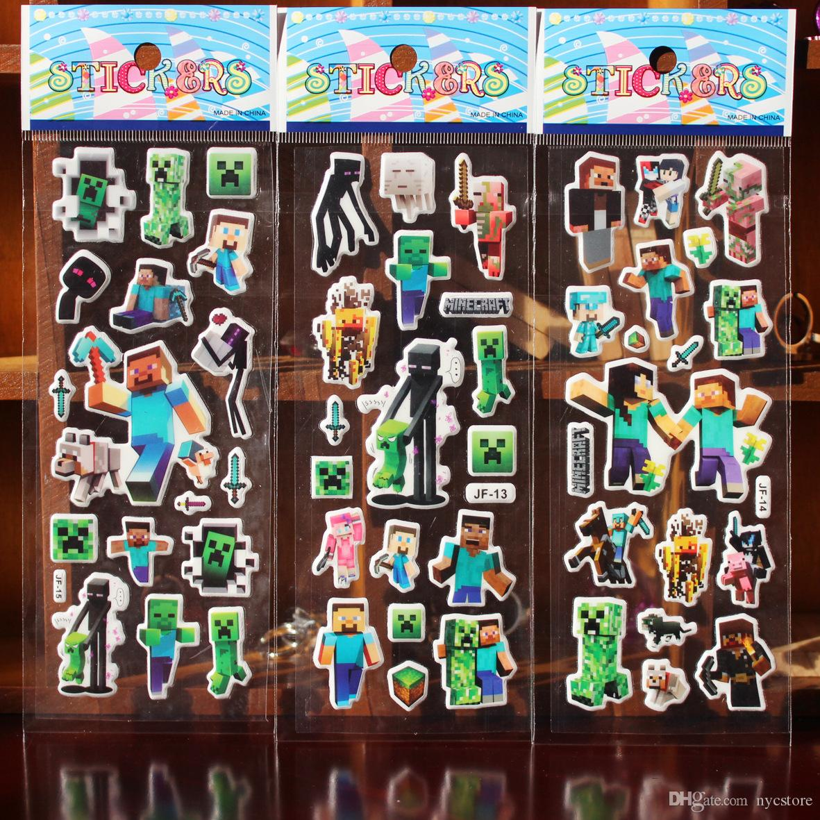 Kids sticker Cartoon Room Wall stickers dcecor number Animals princess monster Cartoon children Small Stickers toys 17*7cm