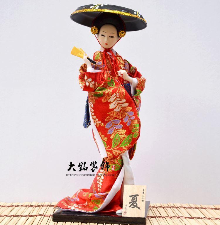 Speciale bambola giapponese kimono bambola bambola geisha mestiere ornamento vacanza regalo sala da pranzo decorazione dell'hotel
