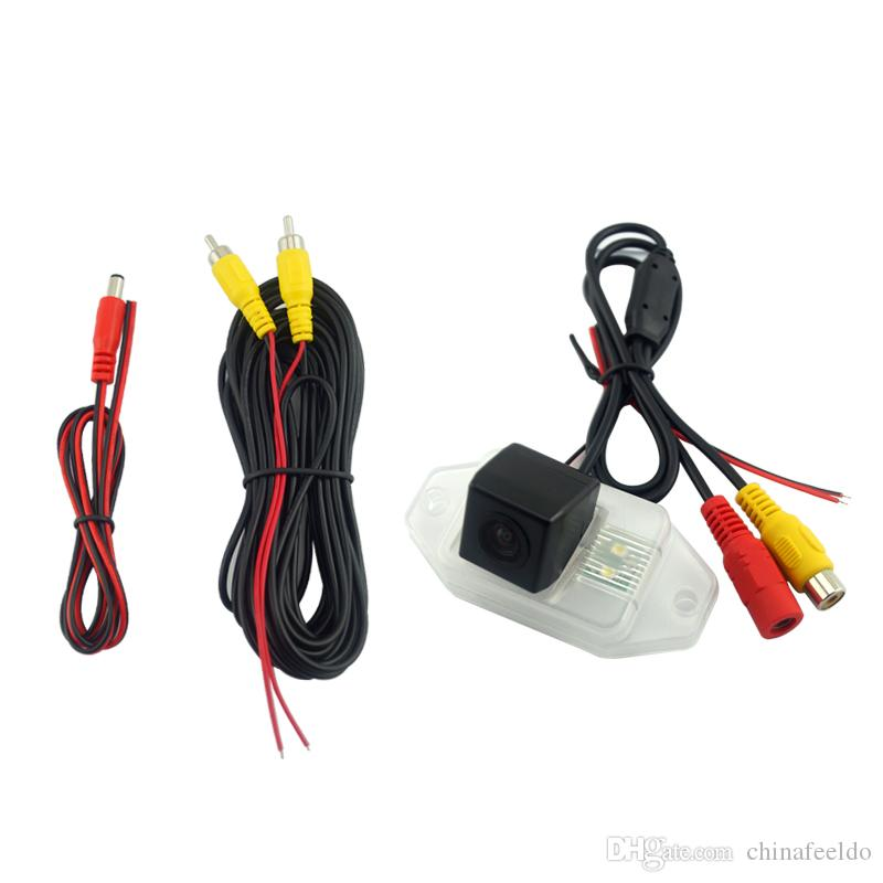 wholesale Car Backup Rear View Camera With LED Light For Toyota Prado 2009 Parking Reverse Camera # 1869