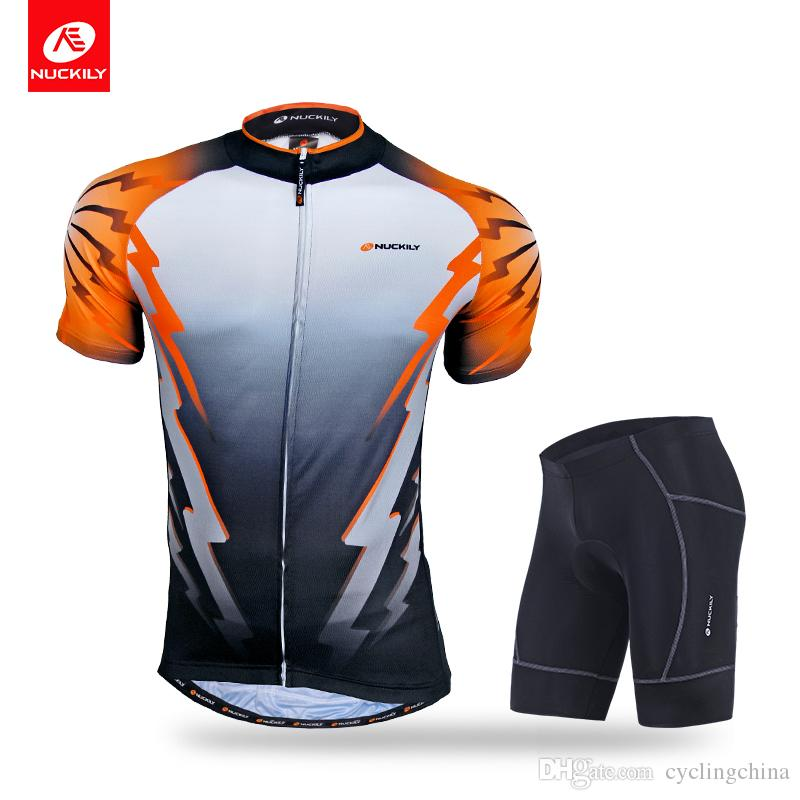 c230e6a28 NUCKILY Men S Summer With Rear Pockets Cycling Jersey And Lycra Short Set  NJ500 NS361 Beer Cycling Jerseys Womens Cycling Jersey From Cyclingchina