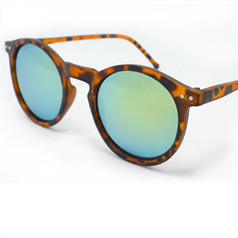 7cace290139 Wholesale-Fahsion Men Women Round Reflective Sunglasses Brand Designer  Vintage Keyhole Mirror Multi Color Glasses Male Feminino Women Reading  Glasses ...