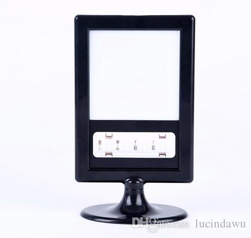 Prezzo talker segno carta Desktop - Promozione POP etichetta etichetta carta cornice fronte-retro portafoto cornice