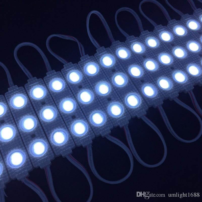 / neues Modul 12V der Einspritzungs-LED 5730 3 LED mit der Linse wasserdicht IP65, 120 Grad 1.5W, LED-Zeichen, Geschäfts-Fahne