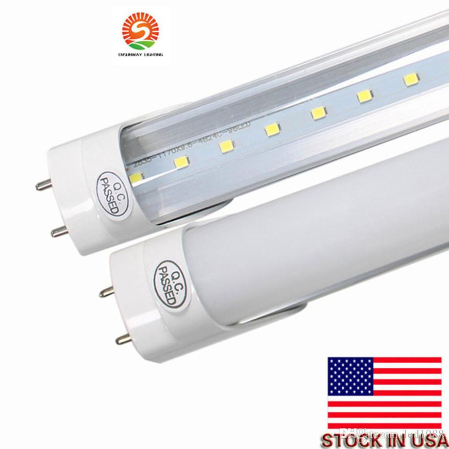 2019 22w 4ft led t8 tube lights 2000 lumens warm. Black Bedroom Furniture Sets. Home Design Ideas