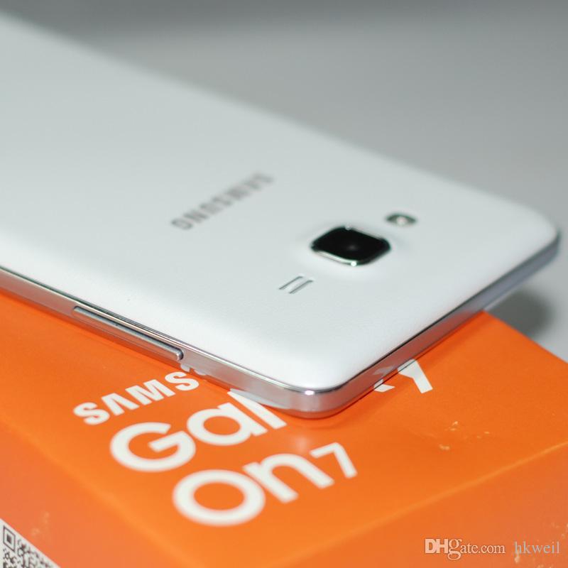 Refurbished Samsung Galaxy ON7 G6000 intelligentes Telefon 5.5inch 16G / 8G ROM 13.0MP Quad Core 4G LTE