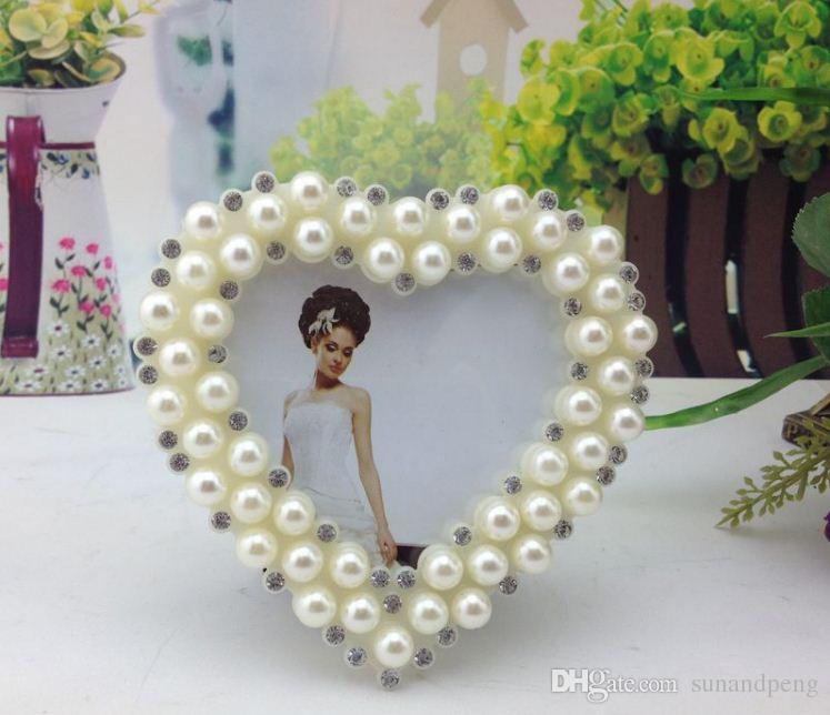 Compre 3 Resina Blanca En Forma De Corazón Con Incrustaciones De ...
