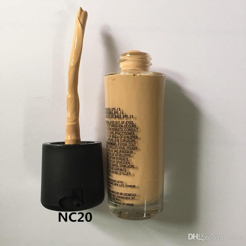 Wholesale-Make up Foundation Mineral moisturizing liquid foundation New Concealer makeup Spf 15