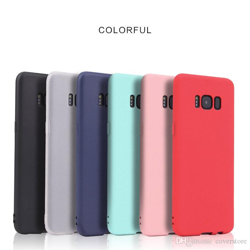silicone phone case for samsung galaxy s8 s8plus cover for galaxy s7