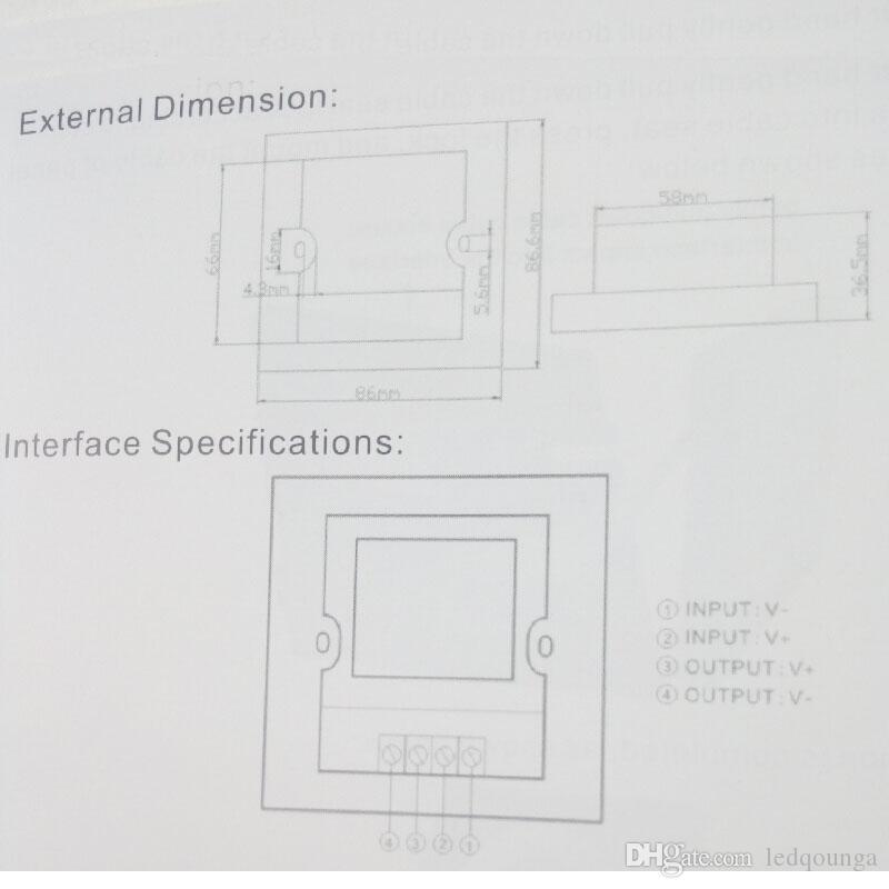 أسود LED المراقب المالي ل12V 24V LED قطاع الخفيفة مرنة 5050 3528 5630 2835 حبل لون واحد بكرة وحة اللمس السطوع قتامة CE روش