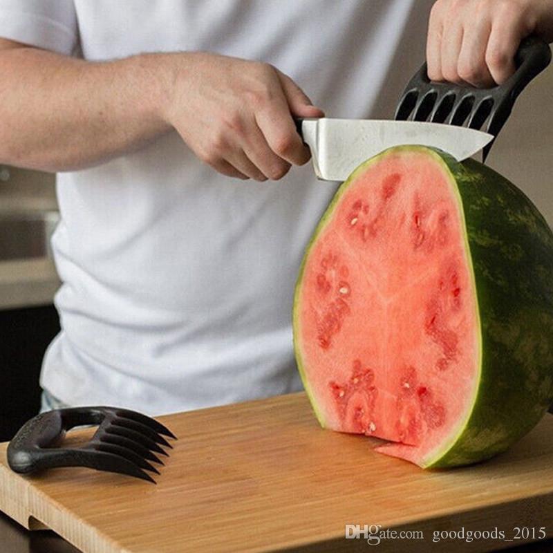 2 Teile / satz Home Kitchen Blacks Fleisch Klauen Shredder Huhn Separator Einfache Reinigung Küche BBQ Grill Kochen Werkzeuge Bärenklauen X024-1