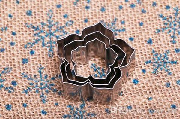 Petunia Flower Petals Stainless Steel Creative Cookie Mold Die Cut Mold Fondant Cake Mold Cutting,