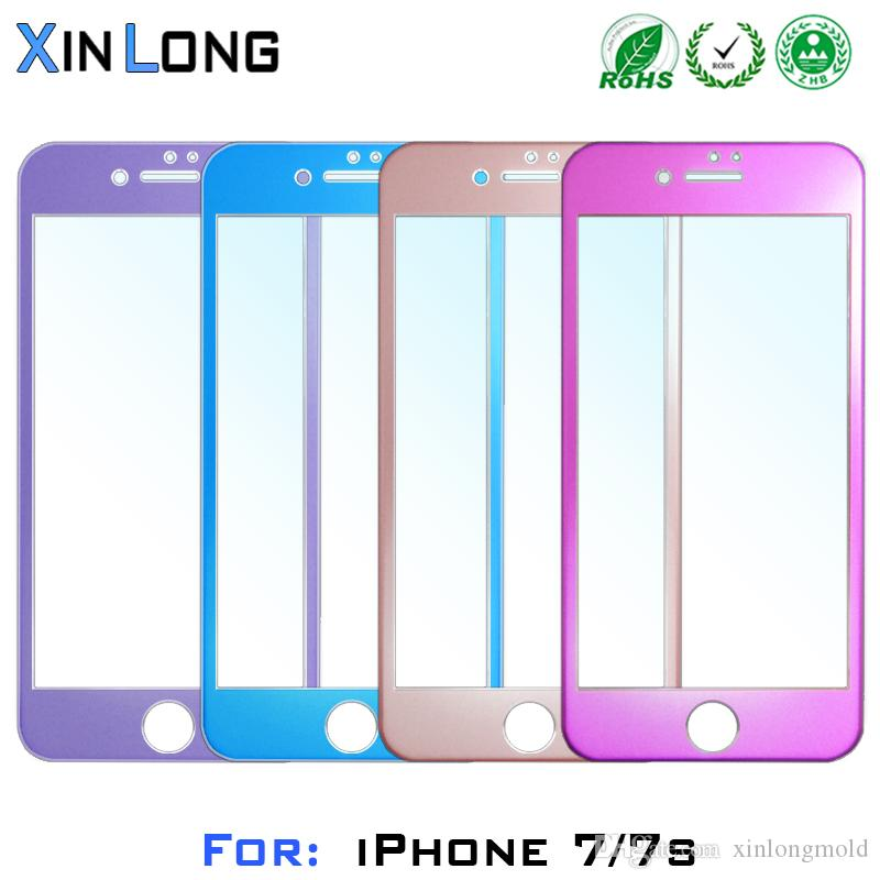 For Iphone 7 Plus Iphone7 Screen Wire Drawing Aluminum Alloy 3D ...