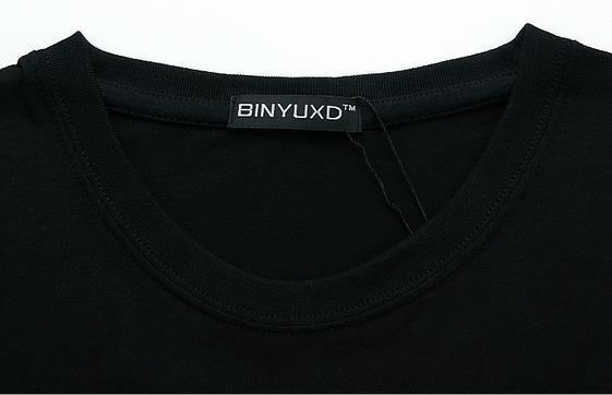 T-shirt à manches courtes à manches courtes T-Shirt à manches courtes pour hommes 2017 Summer Fashion hommes Casual Slim Fit Hip-Hop Top Tees 5XL