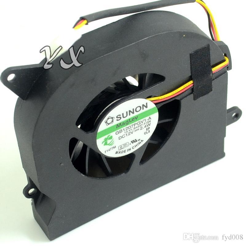Envío gratis para SUNON GB1207PGV1-A, 13.V1.B4337.F.GN DC 12V 2.4W 3 hilos 3 pines Servidor Laptop Fan