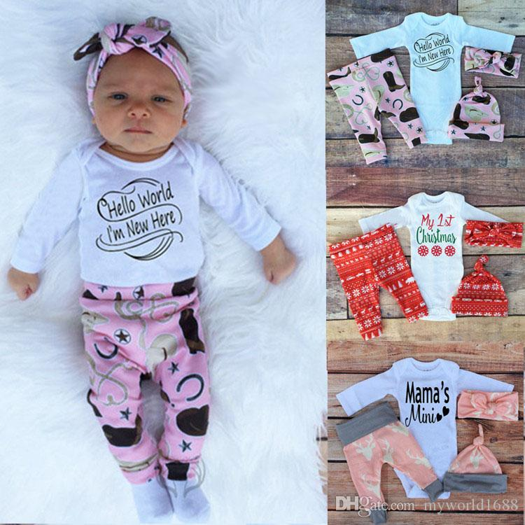 Discount New Boren Christmas Clothes Birthday Outfits For Baby Boy