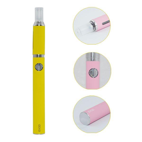 Evod MT3 Blister Kit de Vaporizador de Cigarrillos Electrónicos Vape Pen MT3 Atomizador 650 900 1100mAh Evod Batería Electrónica Cigarrillos Vape Pen