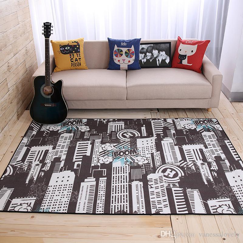 Großhandel Europa Stil 160x230 Cm Großen Teppich Wohnzimmer Couchtisch  Bereich Teppich Persönlichkeit Kunst Hotel Tapeten Fußmatten Rutschfeste  Teppiche Von ...