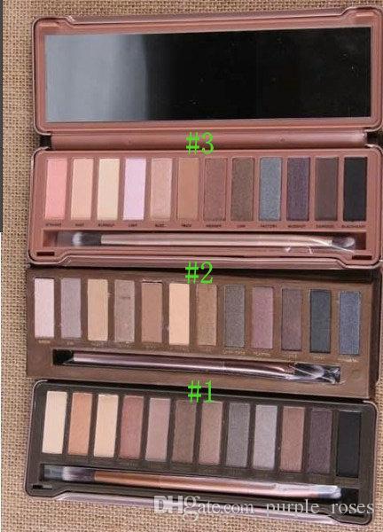 Neue Make-up Lidschatten 12 Farbe Lidschatten-Palette 1 2 3 /