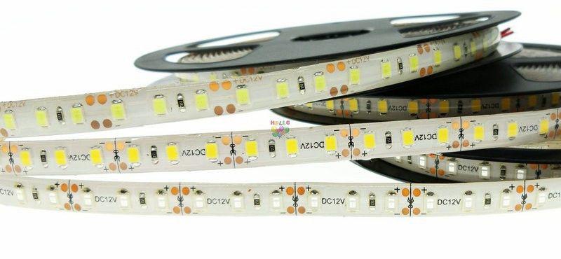 Hög ljusstyrka 5m 600LED SMD 2835 LED-remsa Non Vattentät DC 12V-diodband 120led / m Super ljusare än 3528 Flexibelt ljus