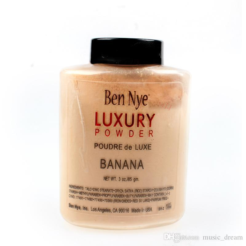 Spedisci entro 24 ore !! Marca Ben Nye LUXURY POWDER POUDER de LUXE Banana Polvere in polvere 3 oz / 85g DHL LIBERA il trasporto