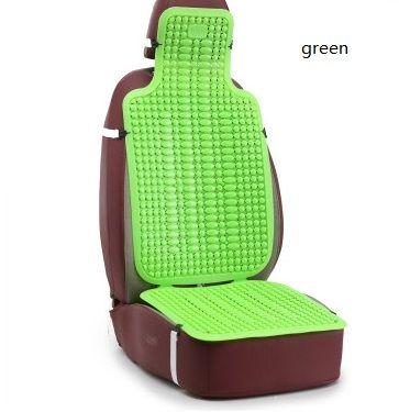 Automotriz Summer Cool Mat Car Truck Van Minibus Plástico Transpirable Cojines Universal Mat Summer Essential Office Seat Cushion