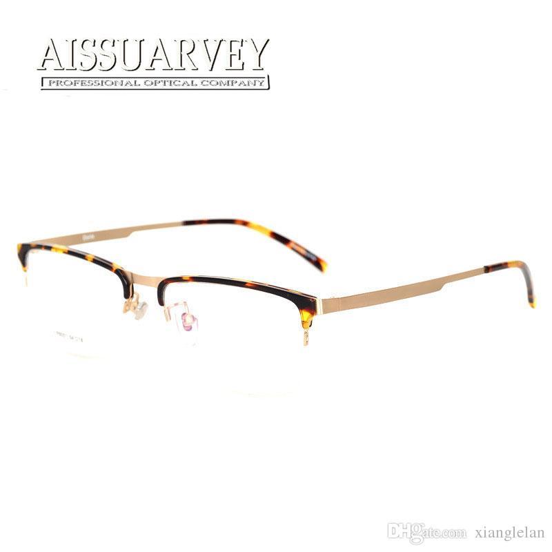 Großhandel Hochwertige Brillen Rahmen Für Frauen Männer Semi Rim ...