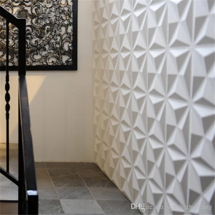 2017 high quality 3d wall panel waterproof for livingroom easy to