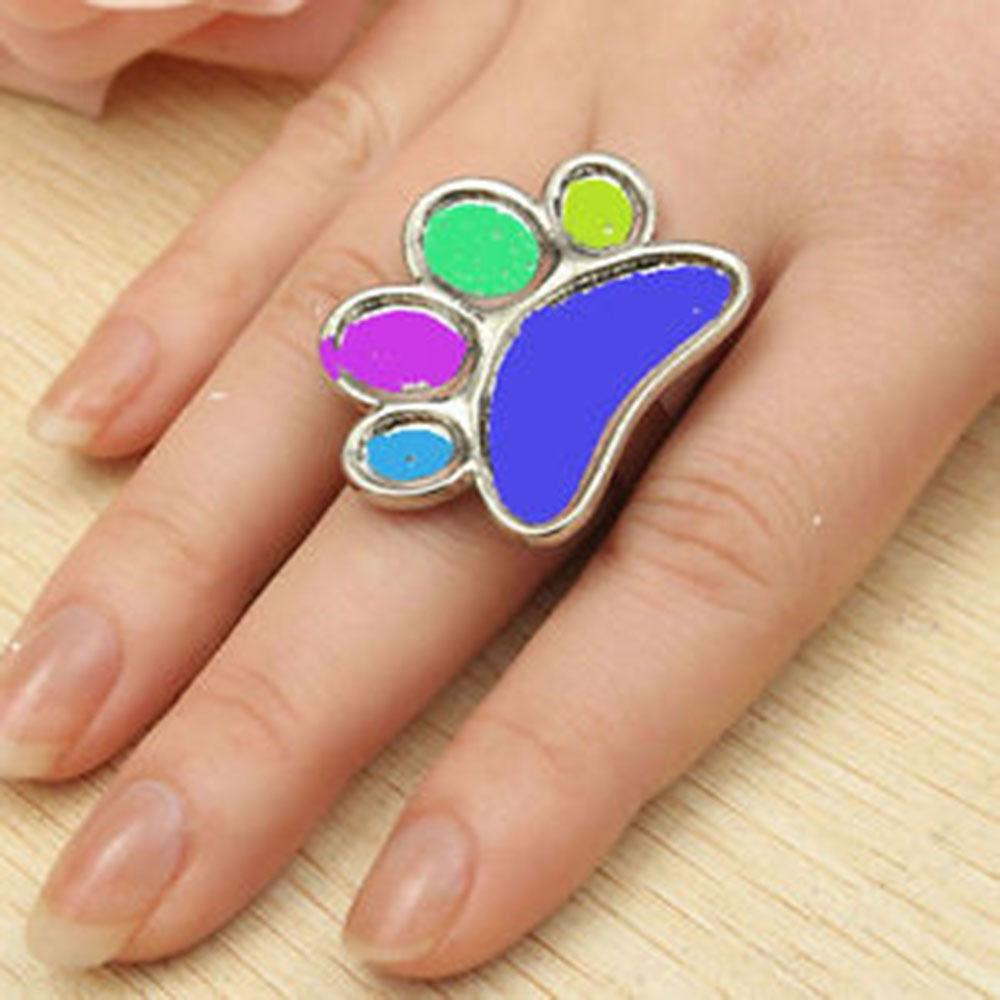 Finger Nail Art: Wholesale Cute Mini Nail Art Finger Ring Palette Manicure