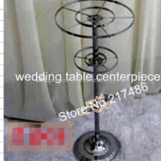 stand mental seulement centres de table de plancher de mariage rond grand, route de plomb de mariage de passage mental
