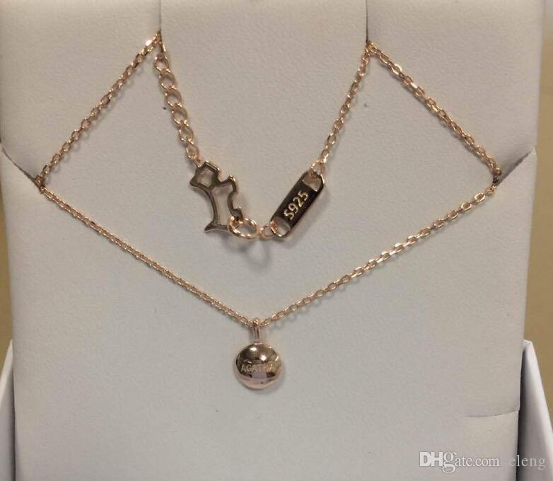 Popular Jewelry 925 Silver Peas Pendant Fit Collarbone chain Necklace jewelry 163