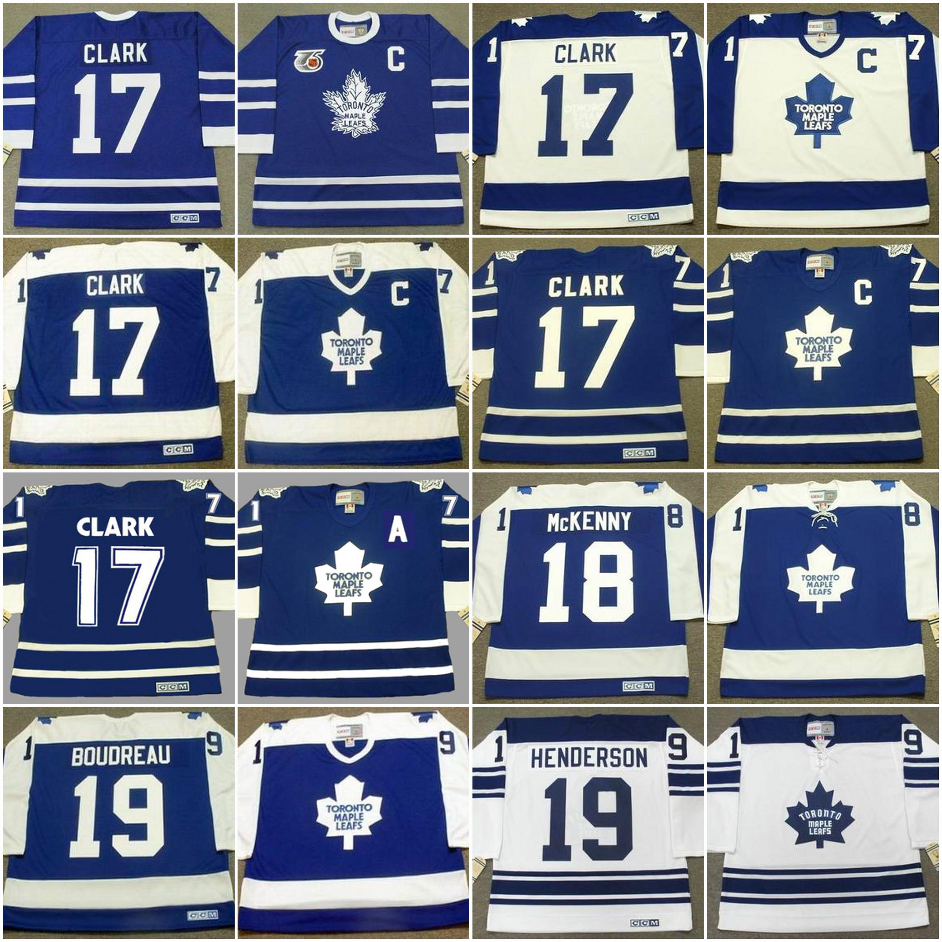 0c224efaaaa Toronto Maple Leafs Jersey 17 WENDEL CLARK 1991 20 BOB PULFORD 20 ED ...