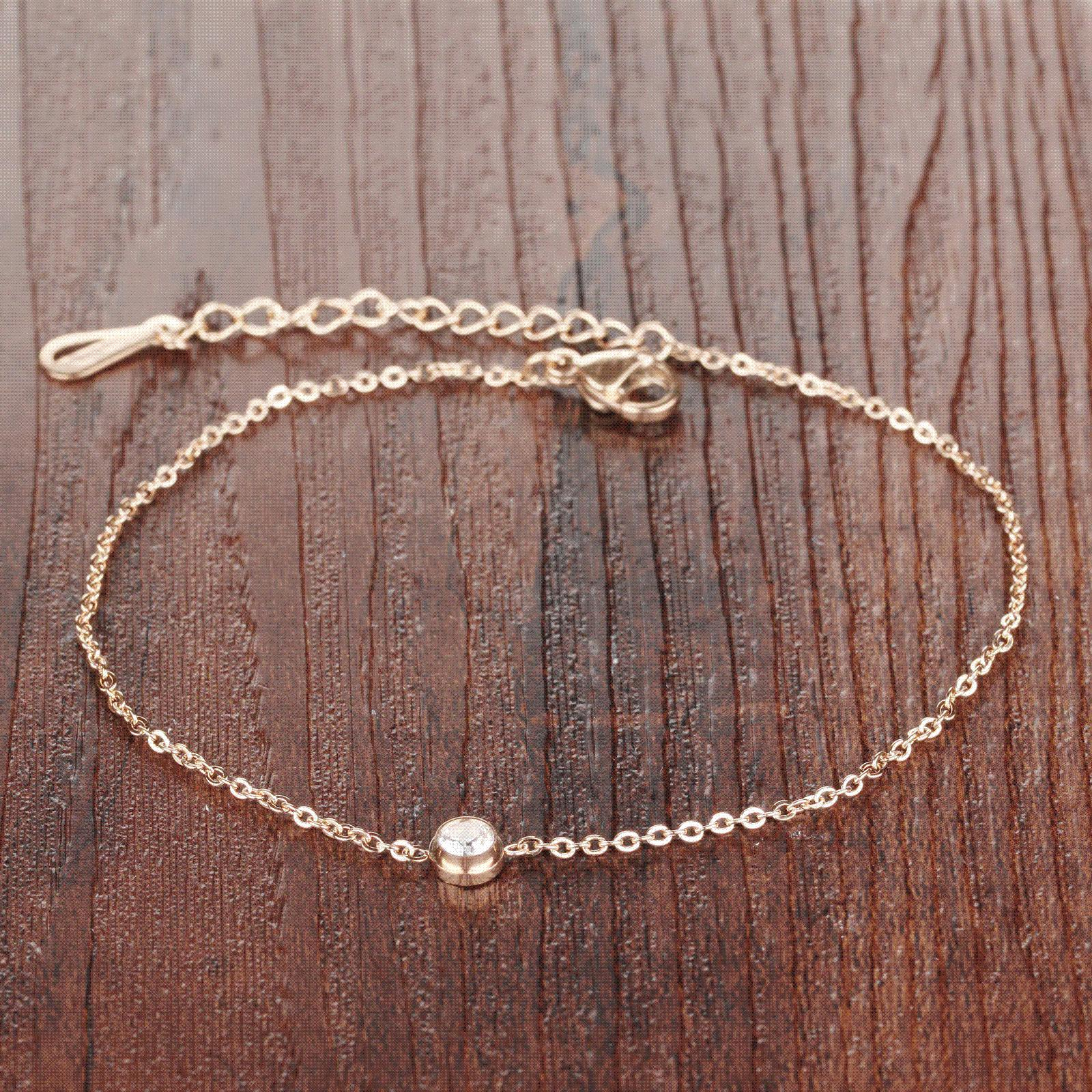 pin an anklet receive gold on sterling additional rose click silver image zirconia link a i over and amazon this affiliate the cubic is info want