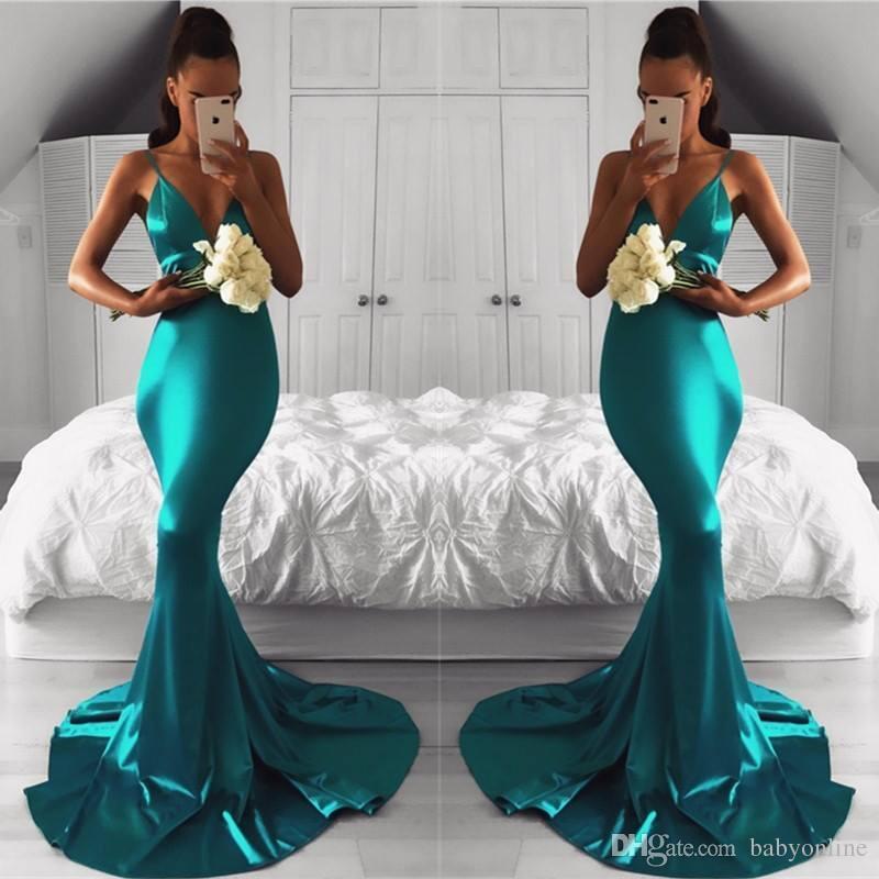 Plain Prom Dresses 2018