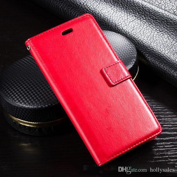 PU Läderfodral Retro Plånbok Telefonväska med kortplats FILP Stativ Foto Shocksäker för not 10 S10 Plus för telefon 11 XS Max