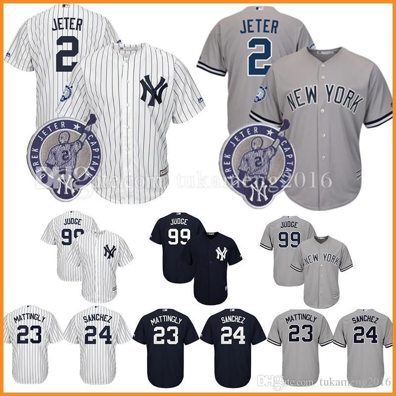e8489372ea1 ... derek jeter yankees 2 gray cool base gms 2017 new york yankees 2 derek  jeter baseball