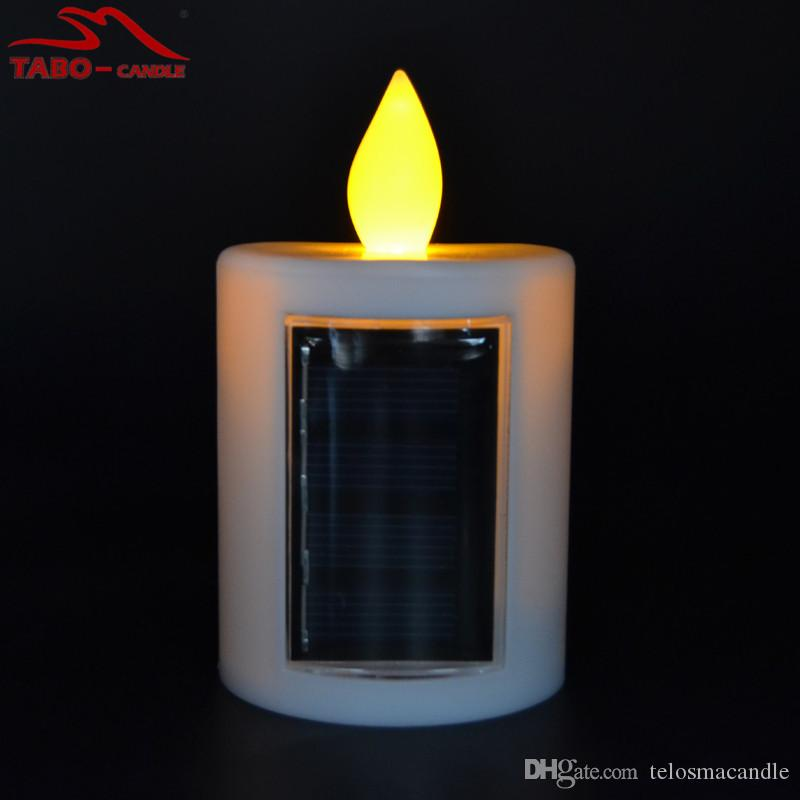 Wonderful Cemetery Solar Candles Memorial Solar Powered Energy Candle For Cemetery  With Amber Flickering Light Outdoor Candle Cemetery Solar Lights Solar  Outdoor ...