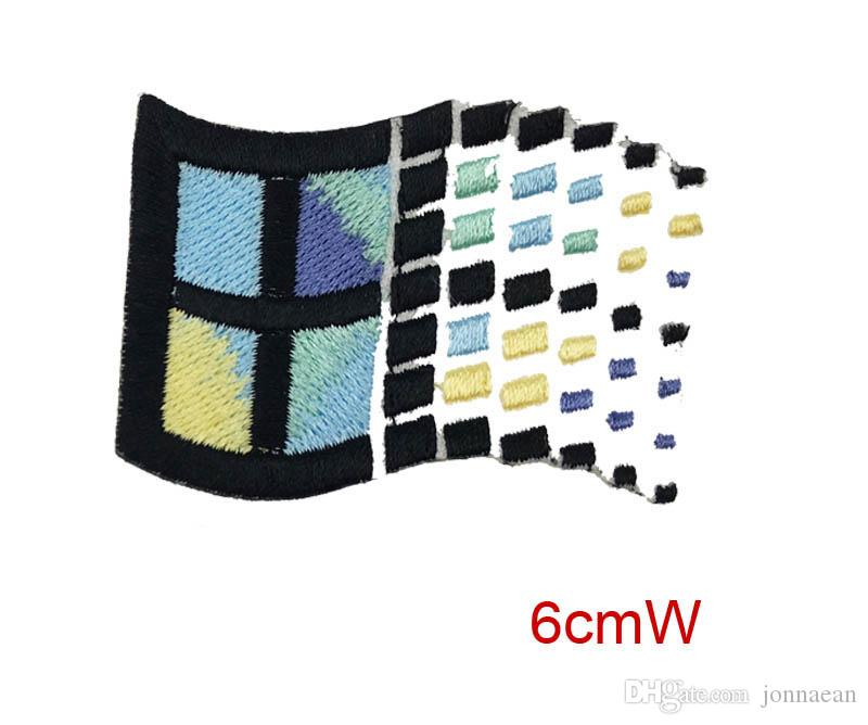 DIY Food Sushi Bread Omelette Windows Custom Embroidered Iron On Badge 100%emb Patches From China Factory Make All