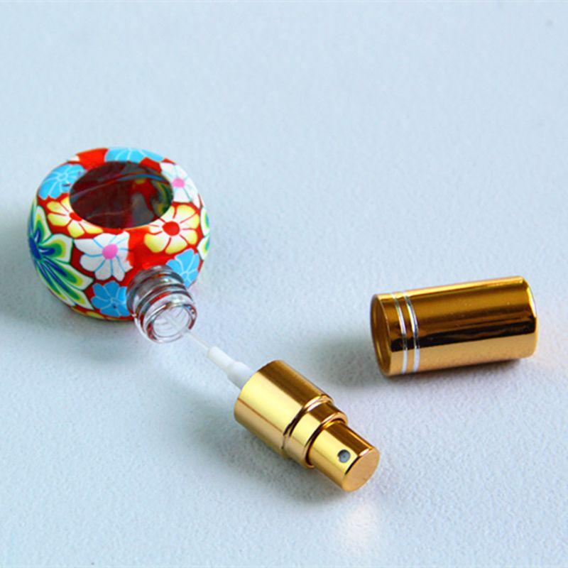 Frasco do pulverizador 8ml, recipiente cosmético vazio do perfume com o bocal do atomizador da névoa, frascos de ensaio F2017173 da amostra do perfume