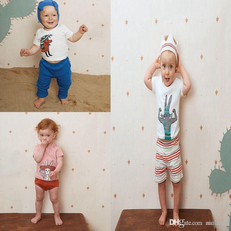bc61d408 Wholesale Baby T-Shirt Boys Girls Cute Cartoon Clothing T-shirts ...