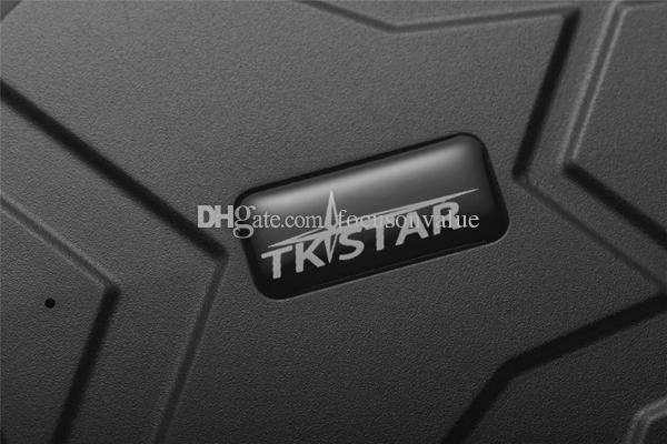 TKSTAR TK905 traqueur de généralistes longue durée de vie de la batterie aimant fort traqueur GPS imperméable traqueur de véhicule personnel GSM / GPRS pour la voiture et la moto