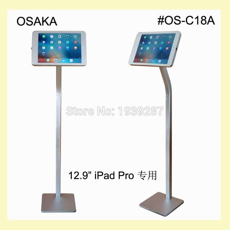 40 Wholesale For IPad Pro 4040 Floor Stand Security Kiosk Standing Magnificent Ipad Stands For Retail Display