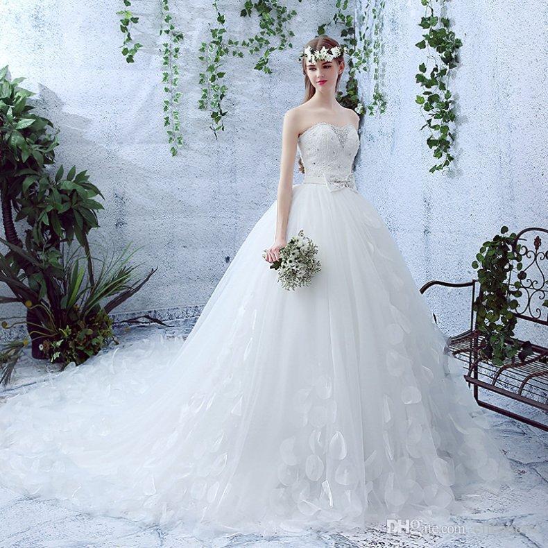 Wedding Dress For Women 2017 Online High Quality Crystal