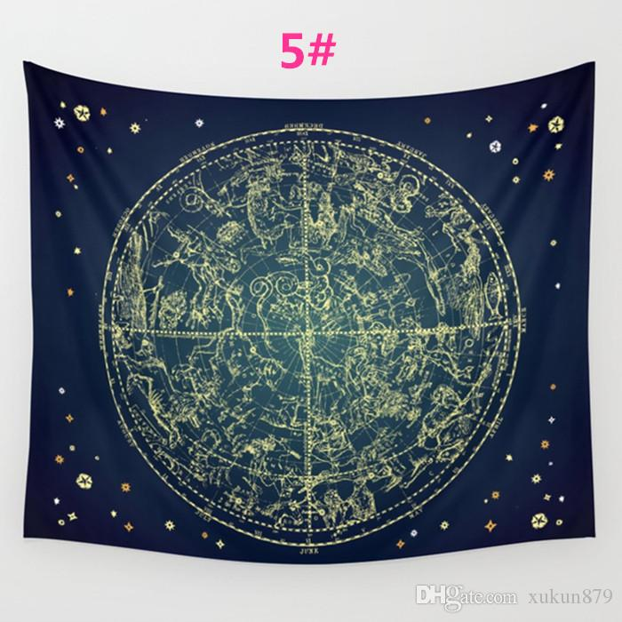 Stars Dreamer Tapestry Background Yoga Home Cloth Beach Towel Living Room Decoration Wall decoration ECO Friendly